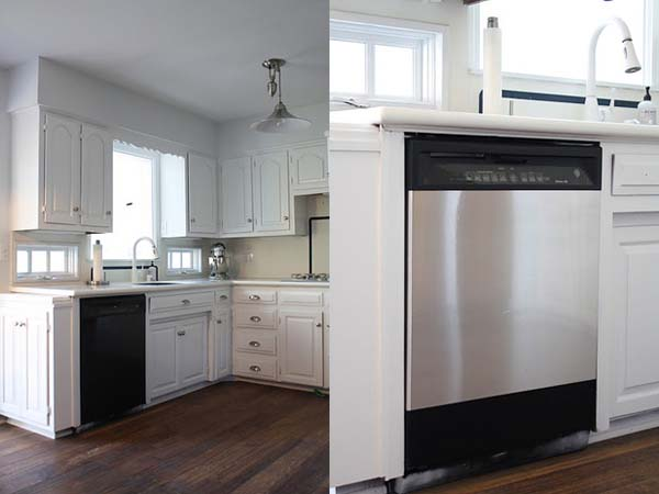 Use Stainless Steel Contact Paper To Give Your Appliances An Updated Look