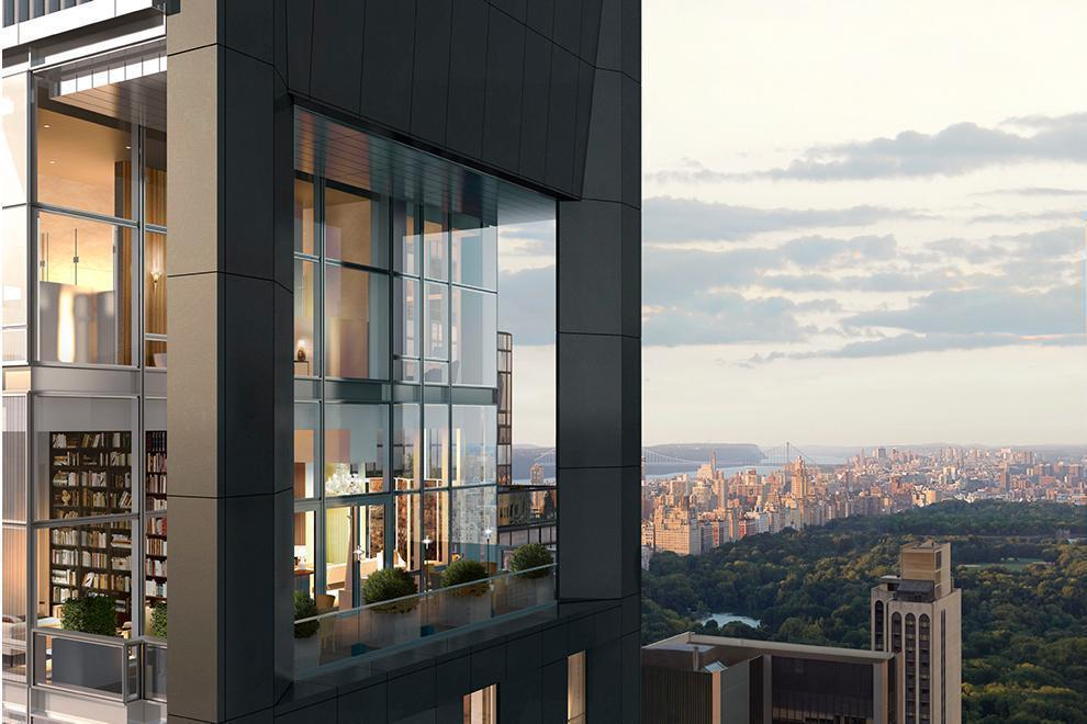 penthouse at the Baccarat Hotel & Residences