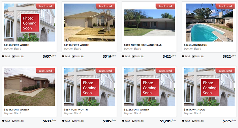 Just Listed Homes in Tarrant County by Jimmie Moreland