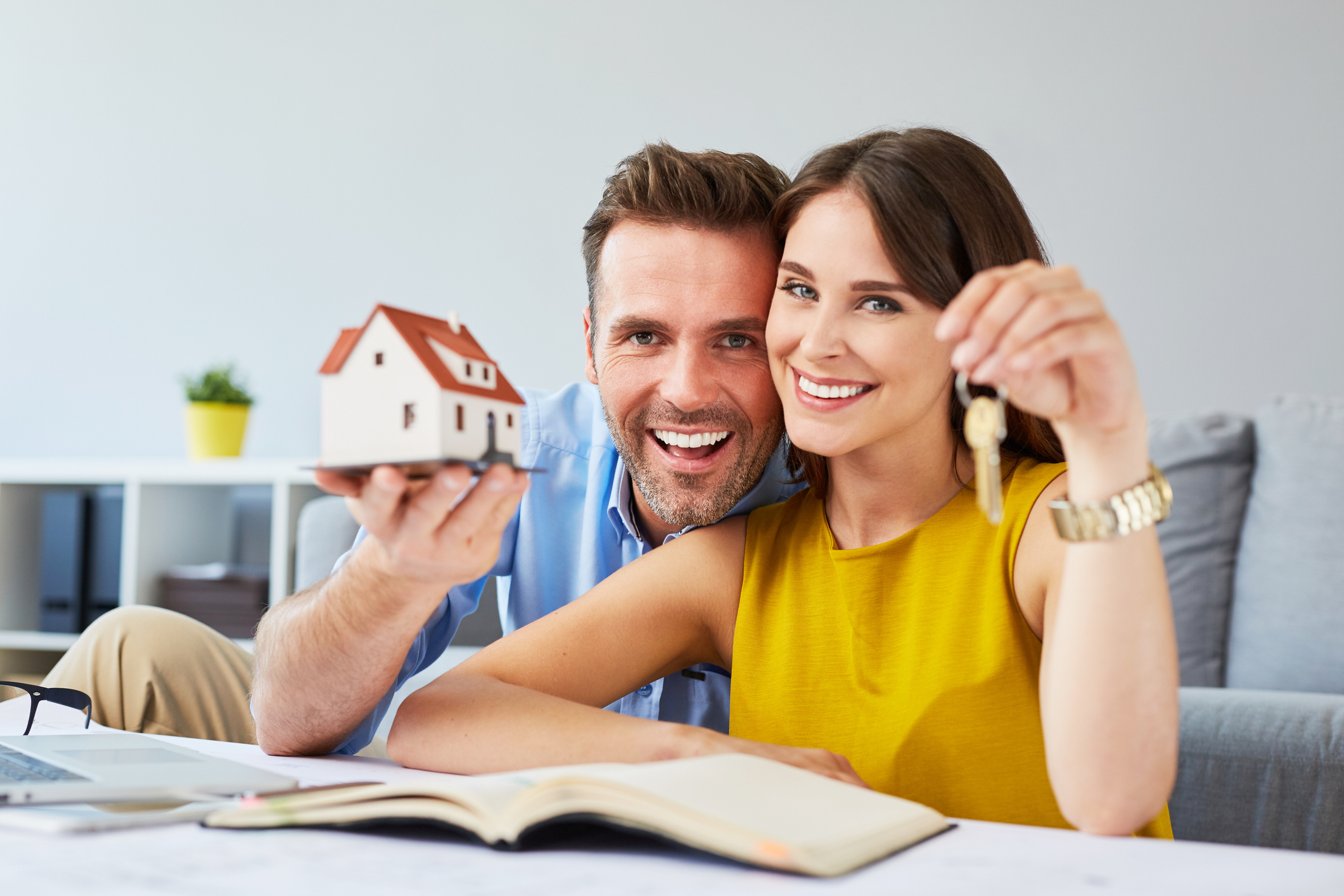 Let your tax refund be the key to your dream of a new home!