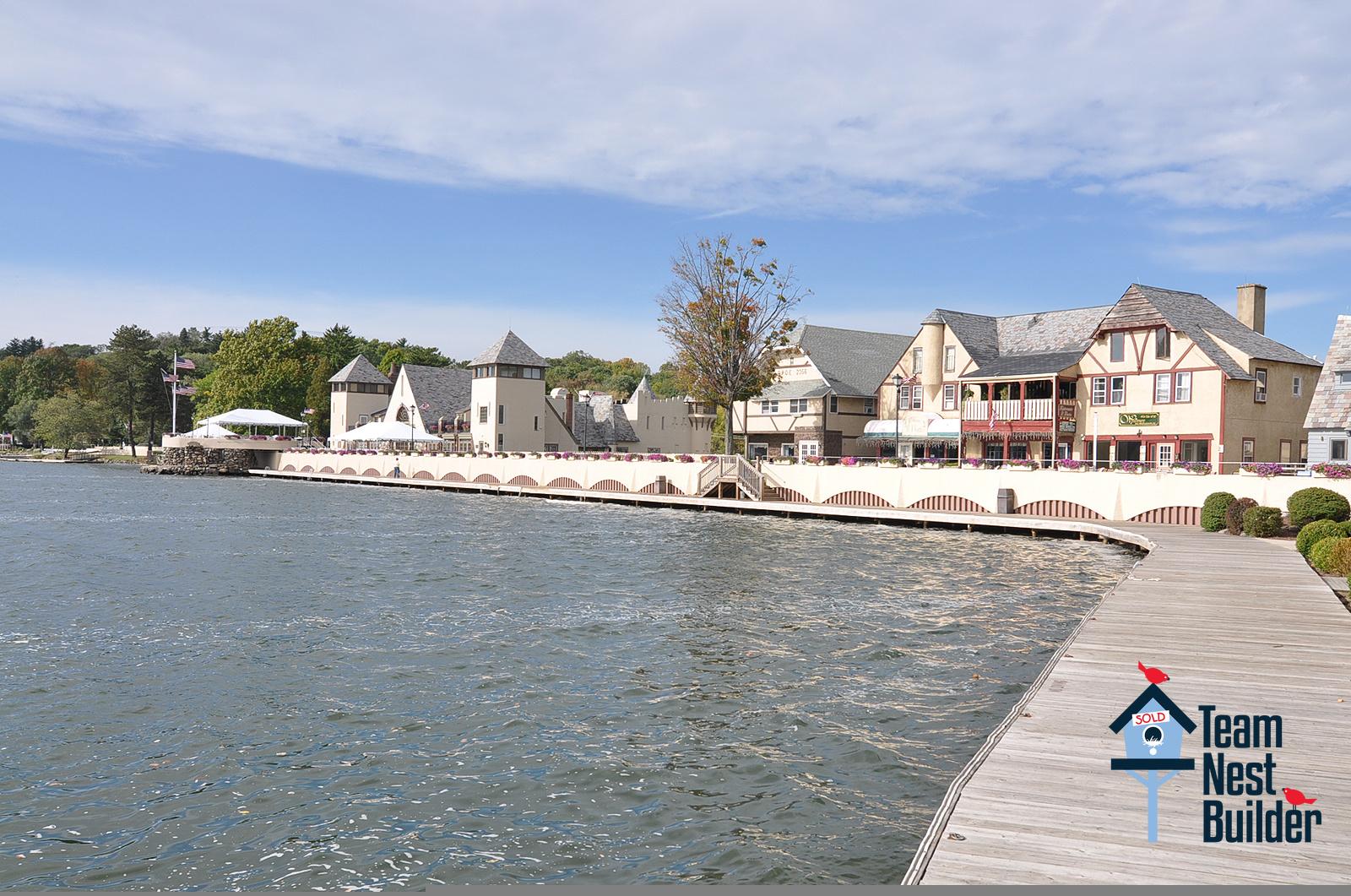Beautiful Lake Mohawk's boardwalk