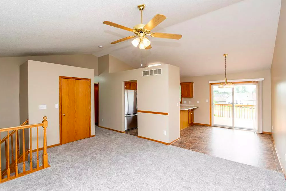 Living Room and Dining Area, house for sale, 2328 Hampton Rhodes Ct NW Rochester, MN 55901
