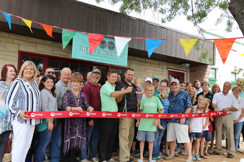 Granbury Chamber of Commerce Ribbon Cutting
