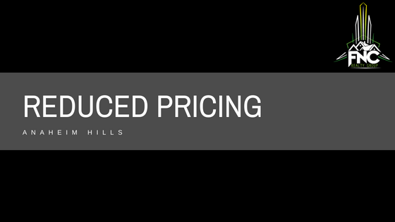Anaheim Hills Houses With Price Reductions