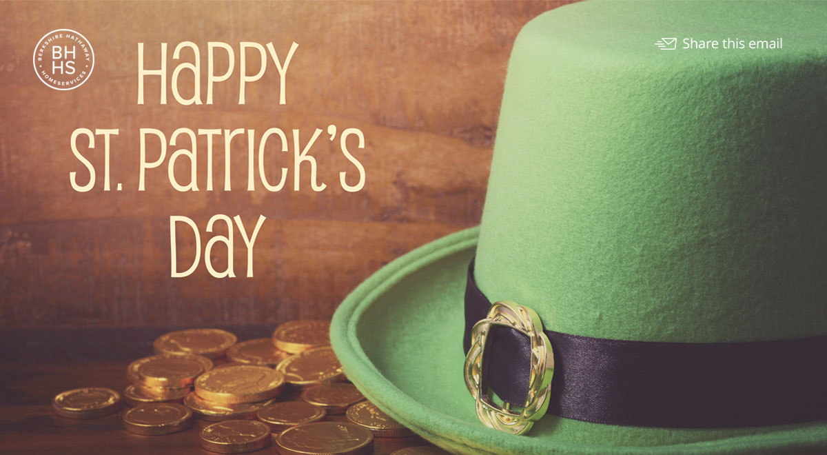 Happy St. Paddy's Day from BHHS Select Realty