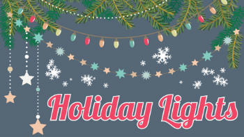 Holiday Lights at Deerfield Towne Center Mason Ohio