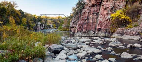 Bridge over Split Rock Creek