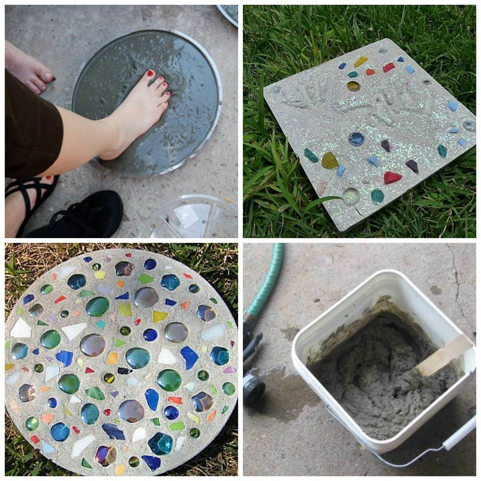 Diy Stepping Stones Diy Stepping Stones For The Garden