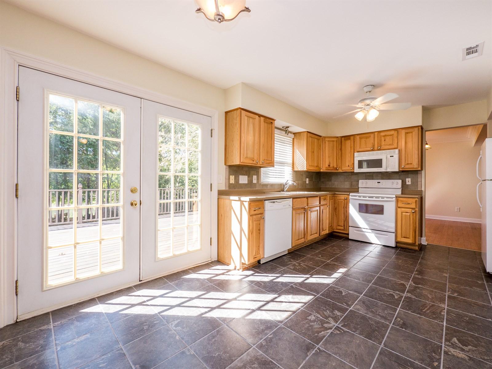 Kitchen at 12113Woodside Falls