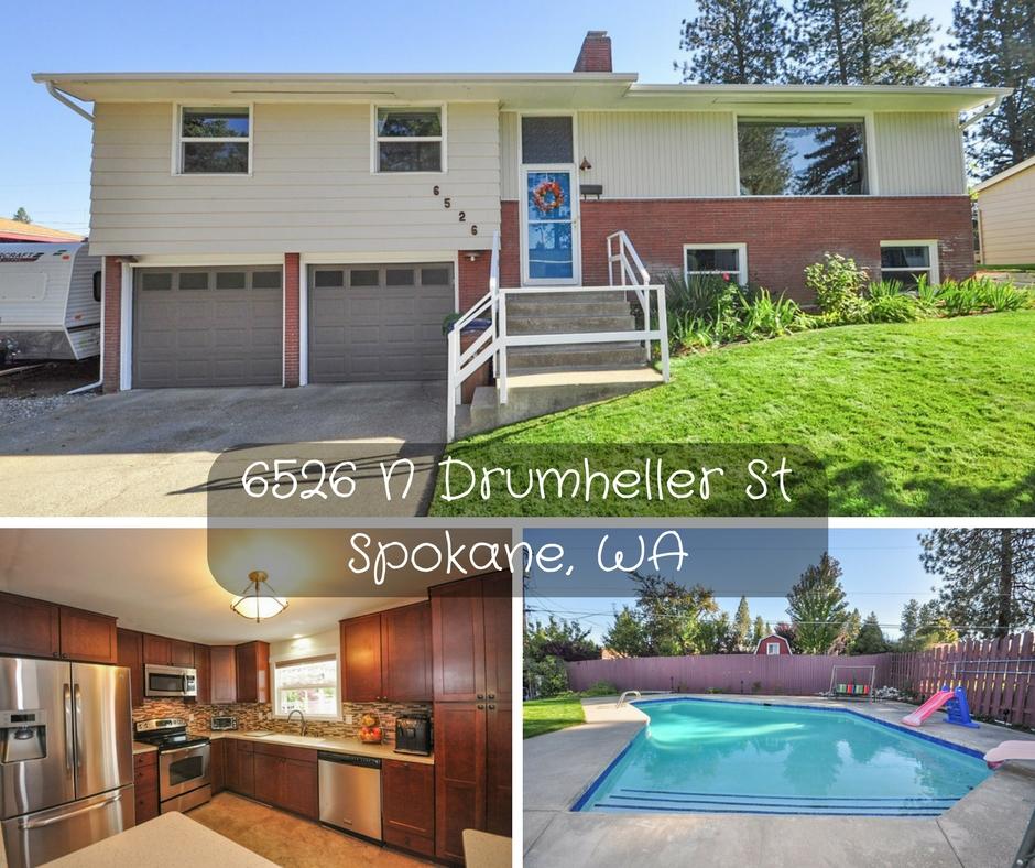 6526 N Drumheller St Spokane WA 99208