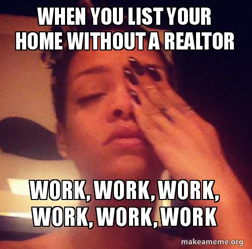 Rihanna Work Meme