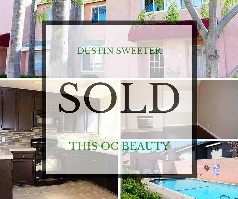 Dustin Sweeter Sells Orange County Homes
