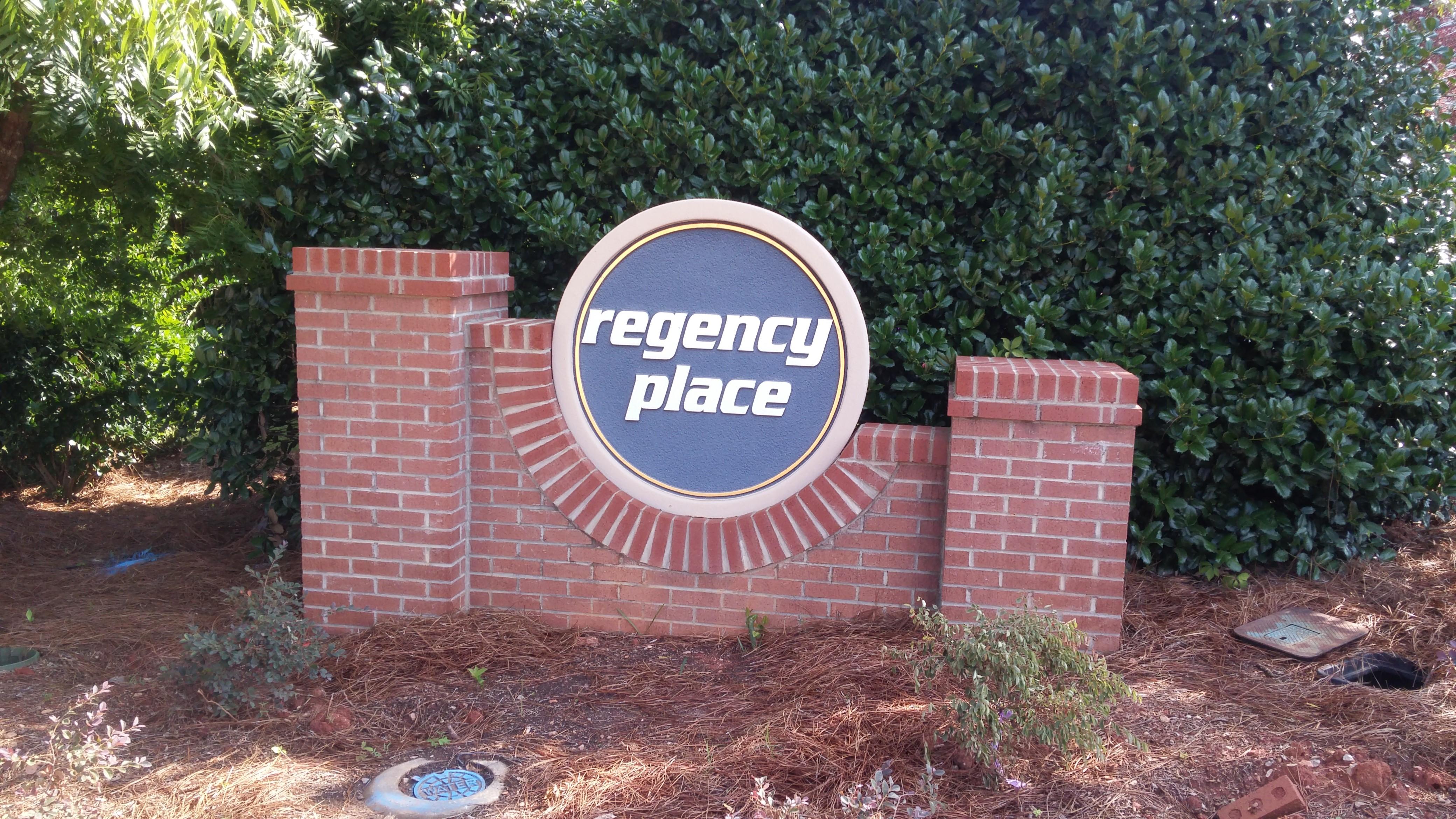 Regency entrance