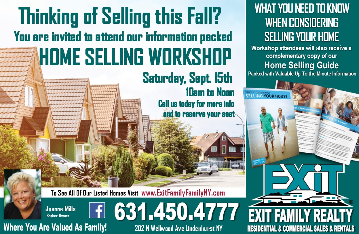 Home Selling Workshop