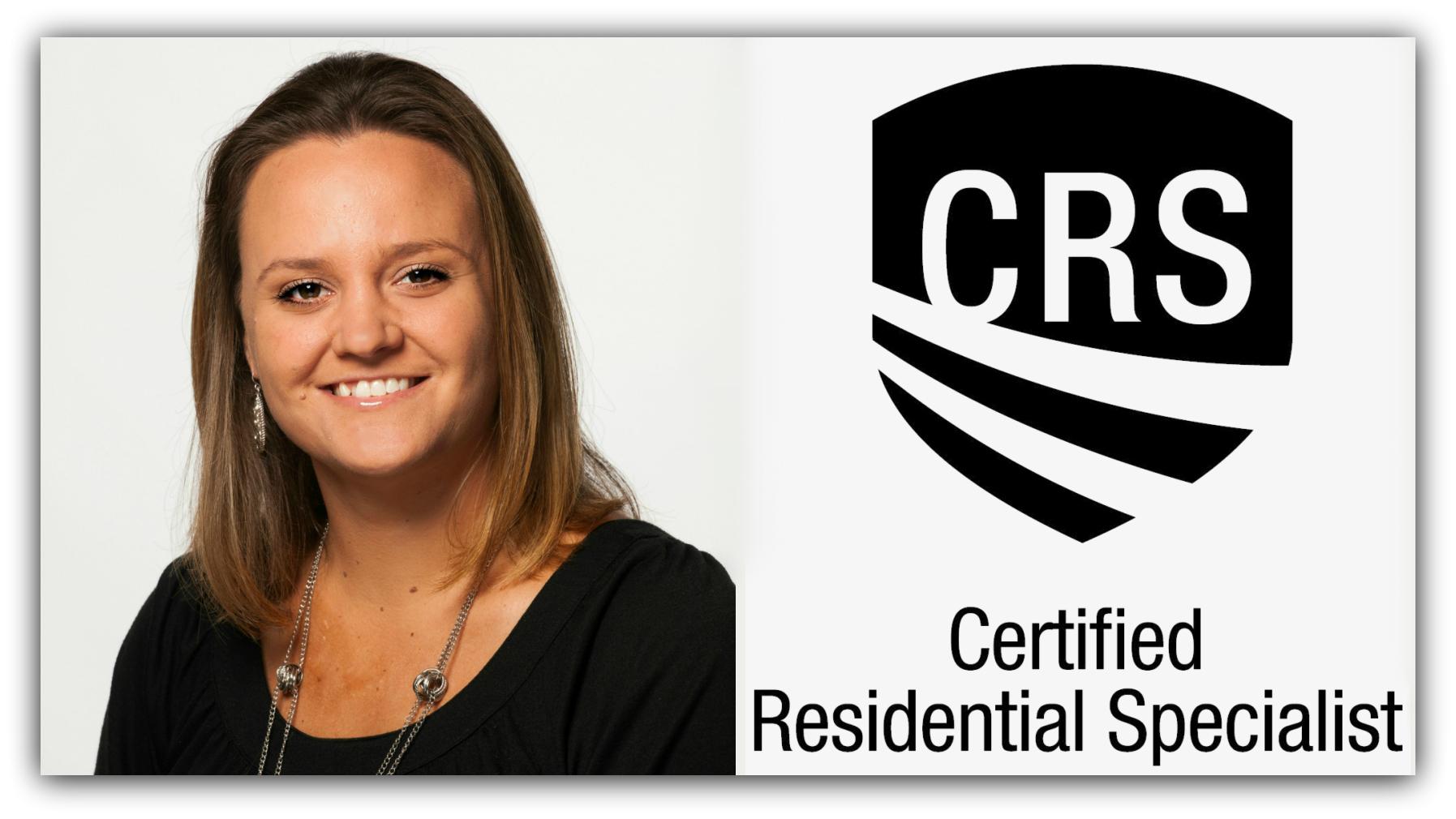 Jennifer Elkins Has Been Awarded the CRS Designation title