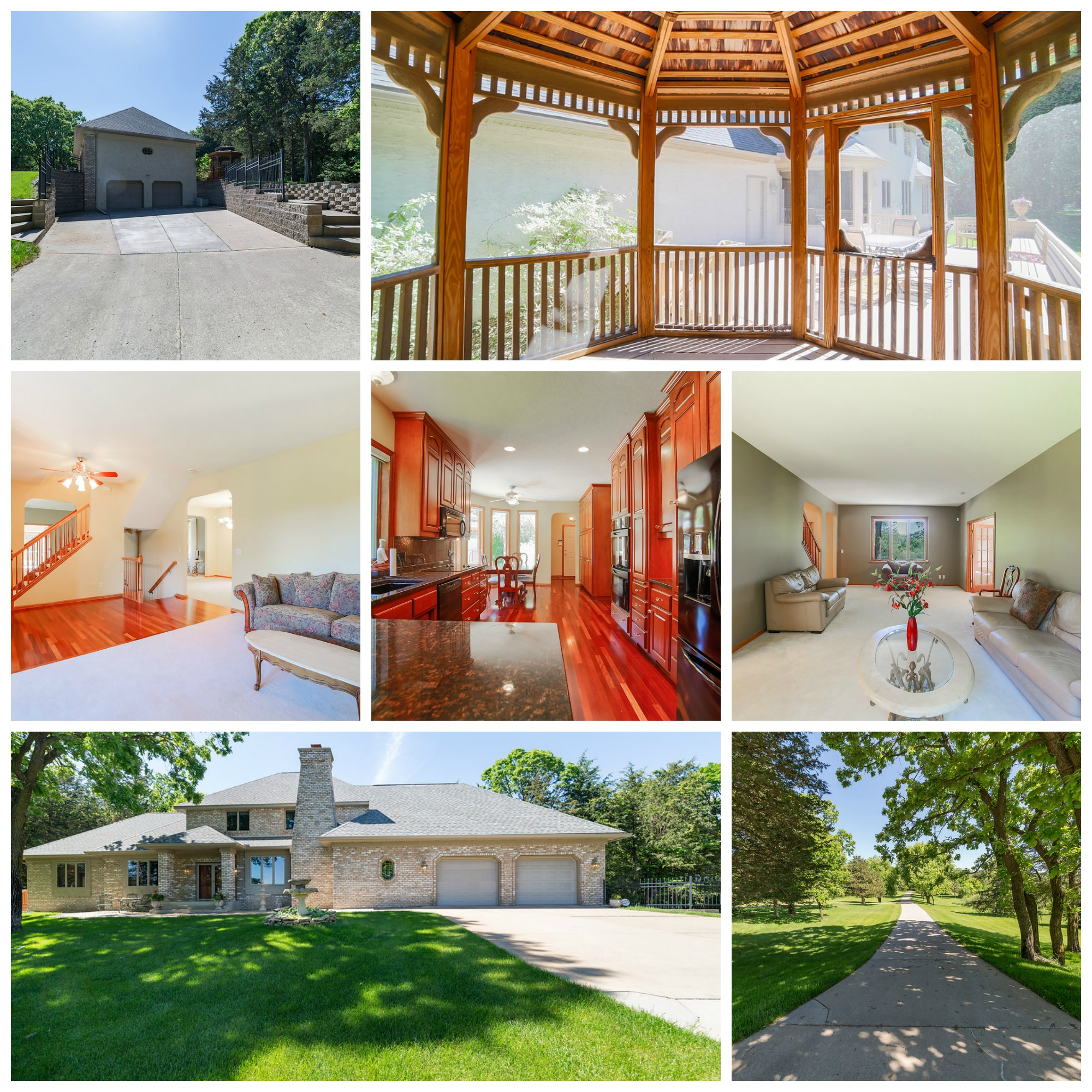 Home for sale on acreage