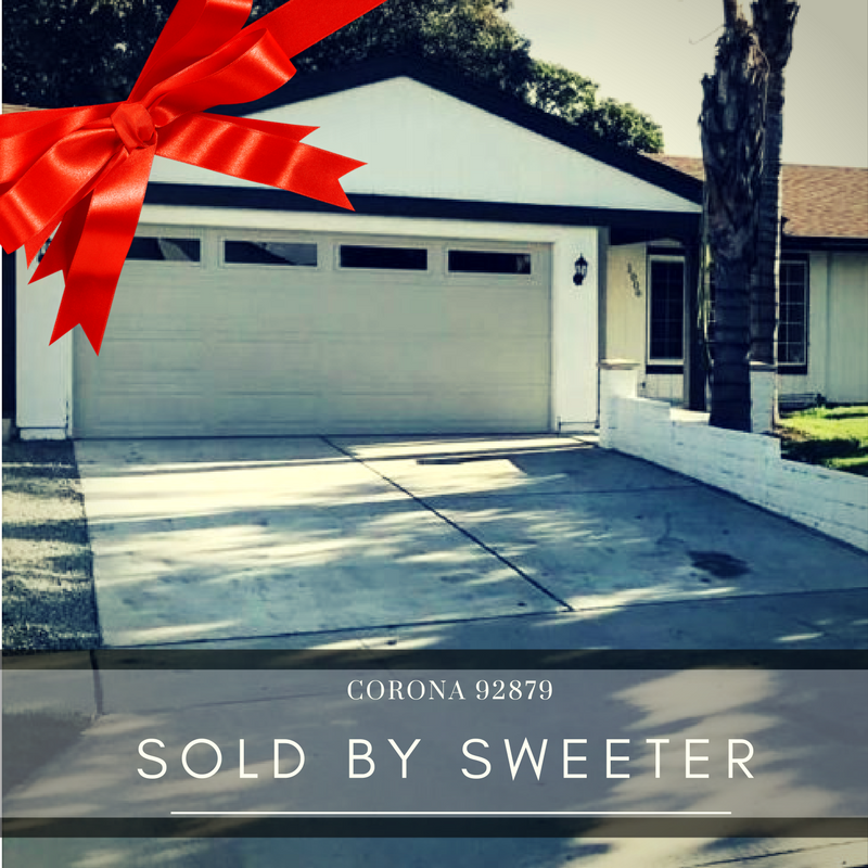 Corona home sold with Dustin Sweeter representing buyer
