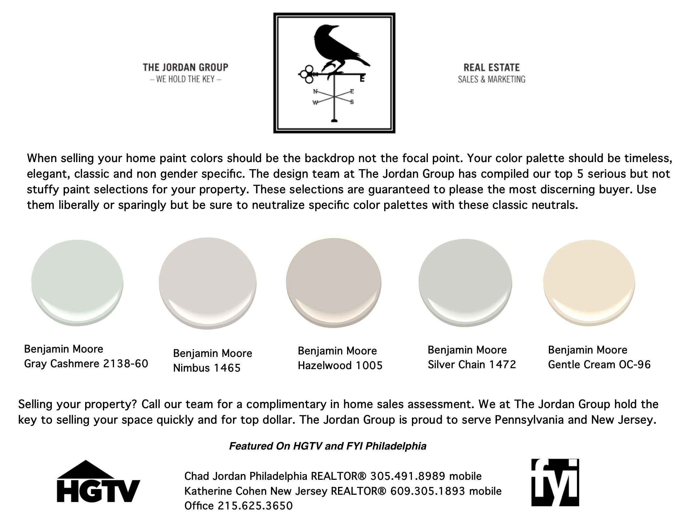 Top 5 paint colors for selling your property quickly and for How to sell your home for top dollar