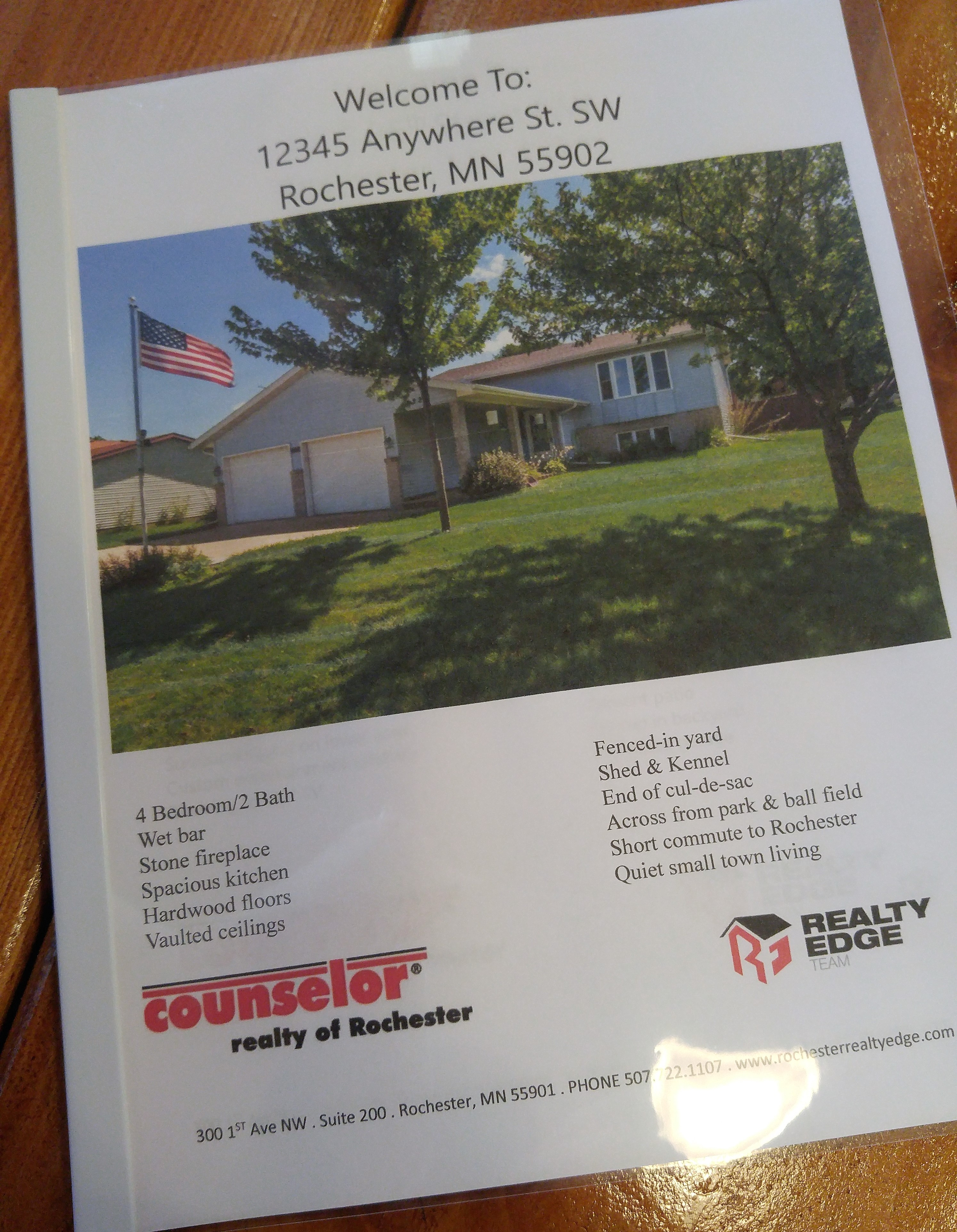 Rochester Realty Edge Show Packet