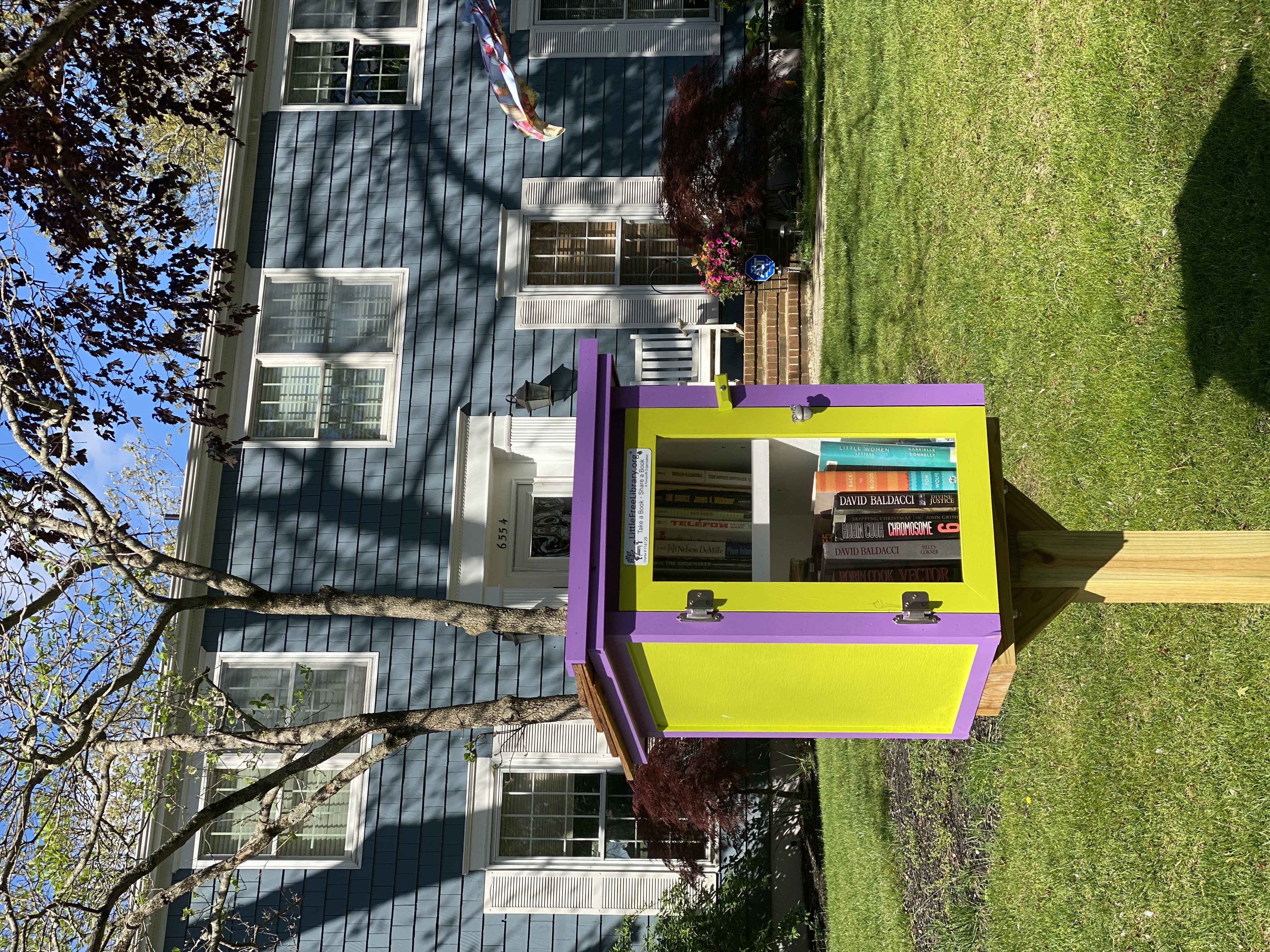 Little Free Library Mays Landing Rundle Avenue Lake Lenape