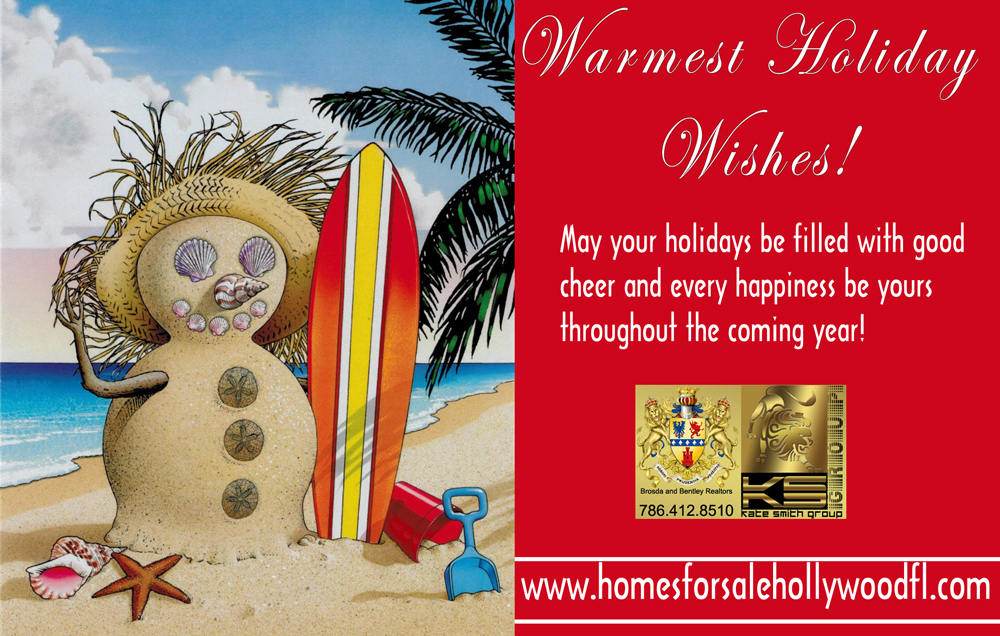 Happy Holidays- <a href='https://www.homesforsalehollywoodfl.com/index.php?types[]=1&types[]=2&areas[]=city:Hollywood&beds=0&baths=0&min=0&max=100000000&map=0&quick=1&submit=Search' title='Search Properties in Hollywood'>Hollywood</a> Realtor Kate Smith