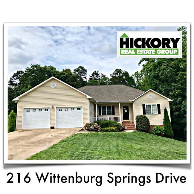 Bethlehem NC Home For Sale In Wittenburg Springs