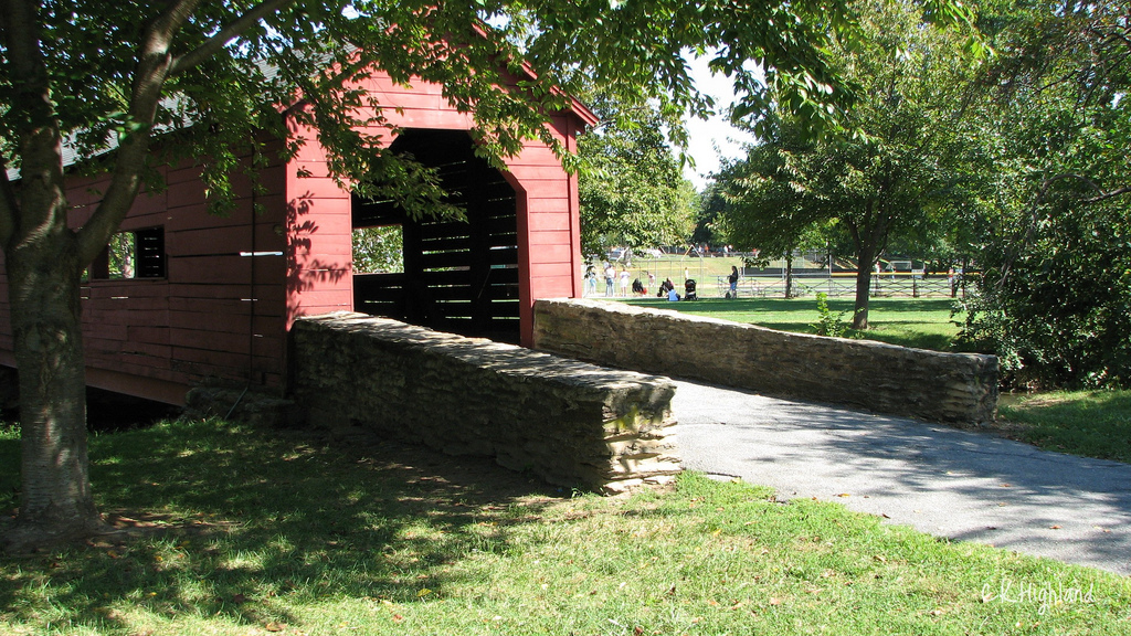 Covered Walking Bridge