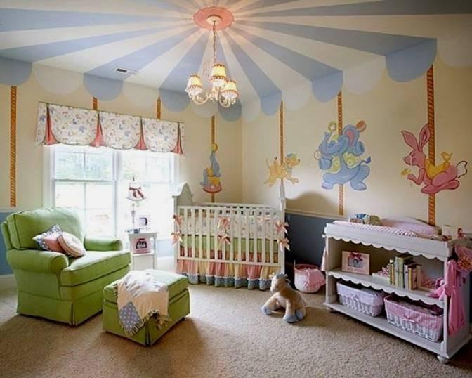 Nursery Carousel Design - Lisa Birdsong