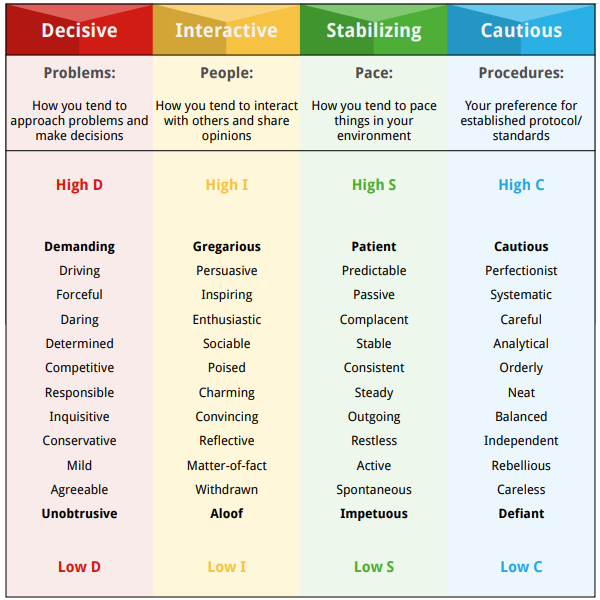 The DISC Personality Test And What Drives You