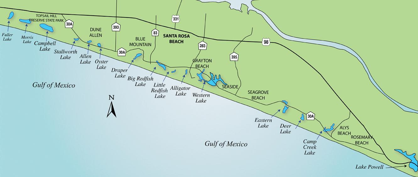 30A Coastal Dune Lakes