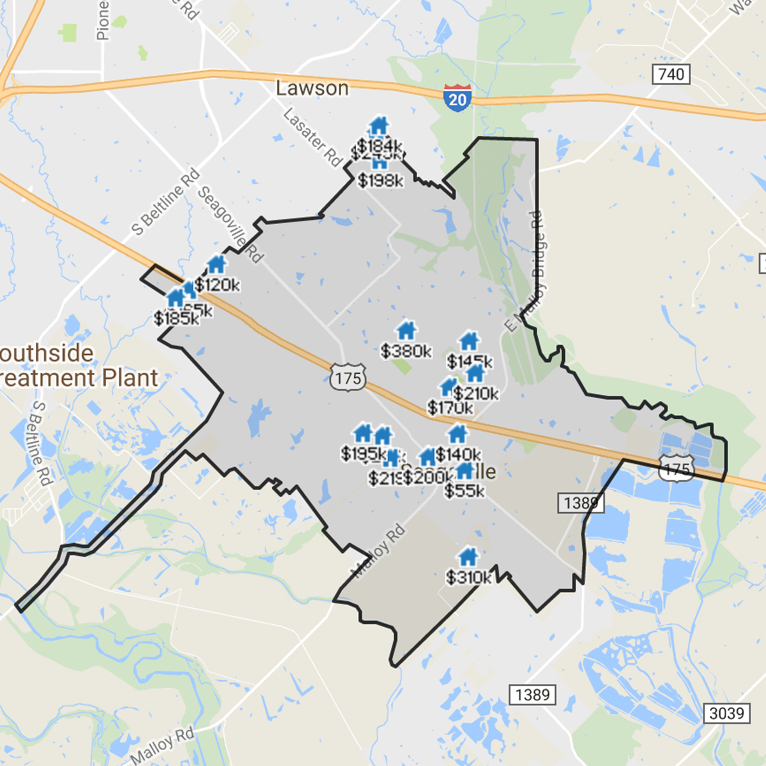 Homes for Sale Seagoville TX