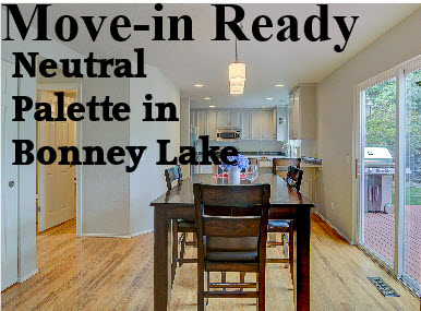 Bonney Lake Move-in Ready Home For Sale