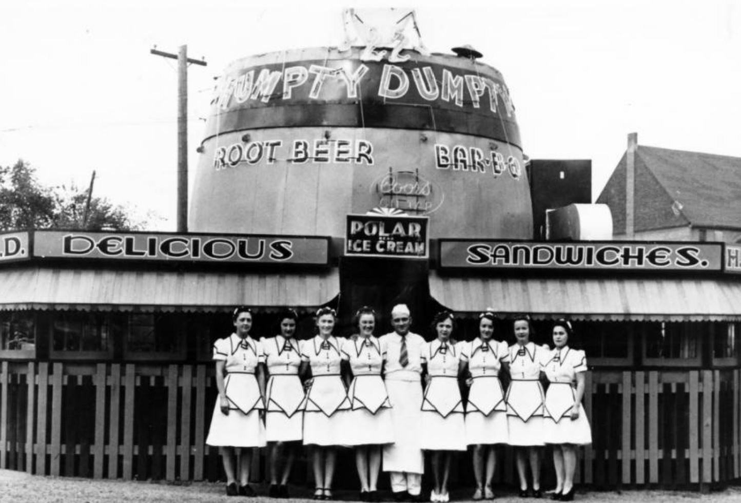 Humpty Dumpty Drive-in, Denver, Colorado - 1930s