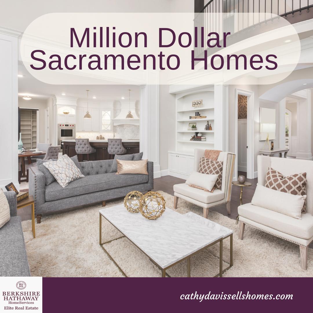 million dollar homes sacramento