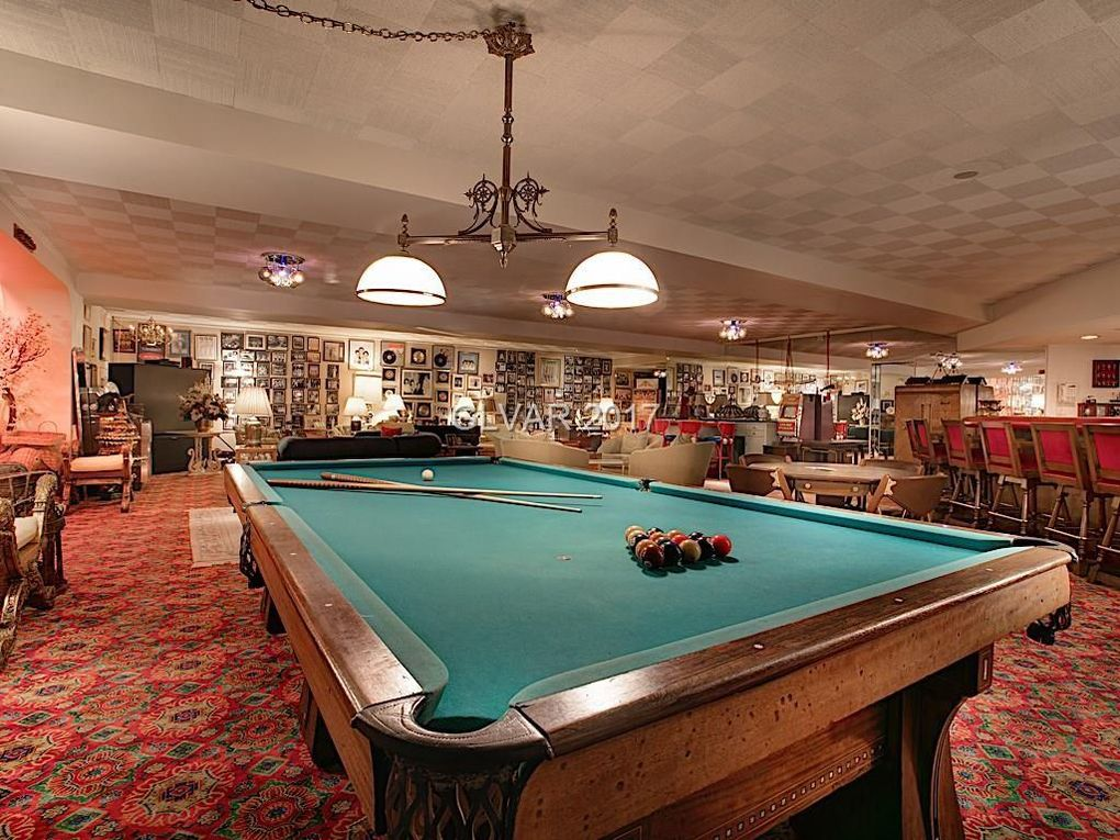 Billiards table in the cabaret