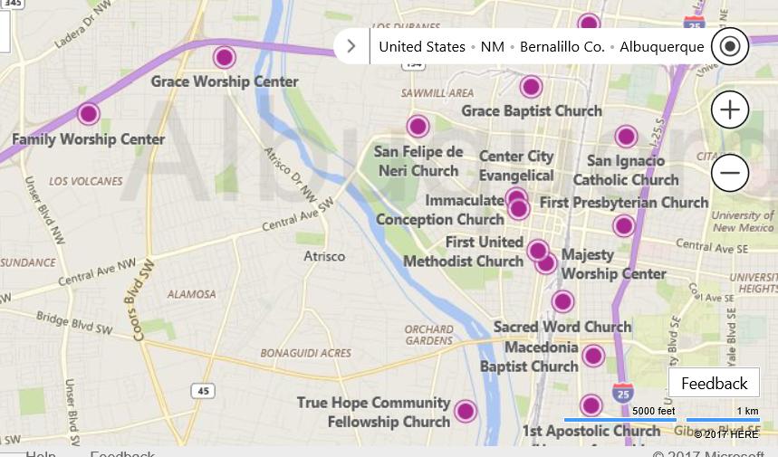 Albuquerque Places of Worship