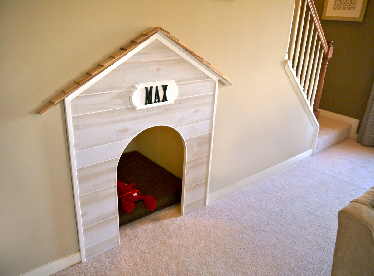 Under Stair Dog House