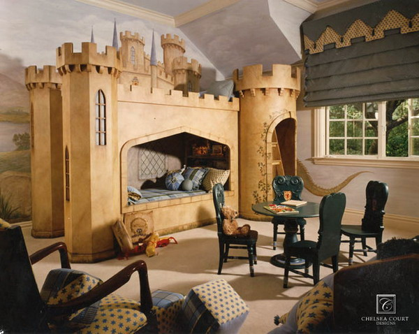 Castle Bedroom Design