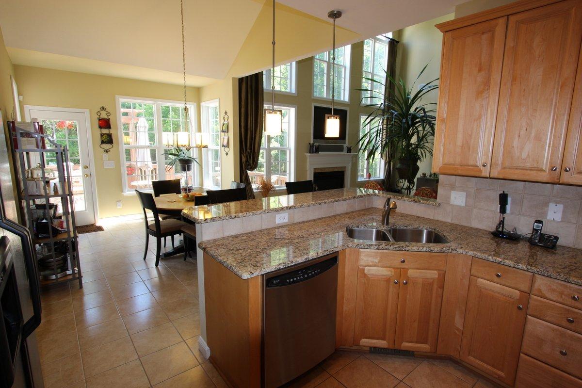 Granite shines in the kitchen