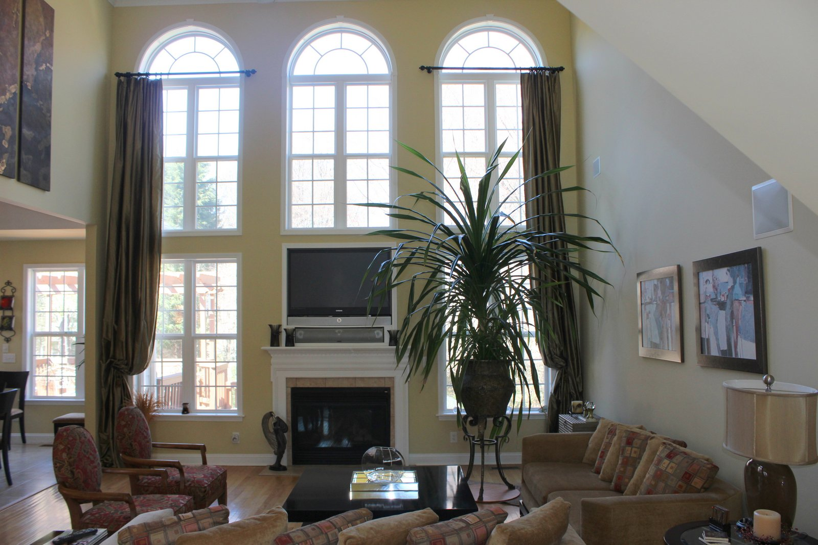 Two story greate room at 10231 Squires Way