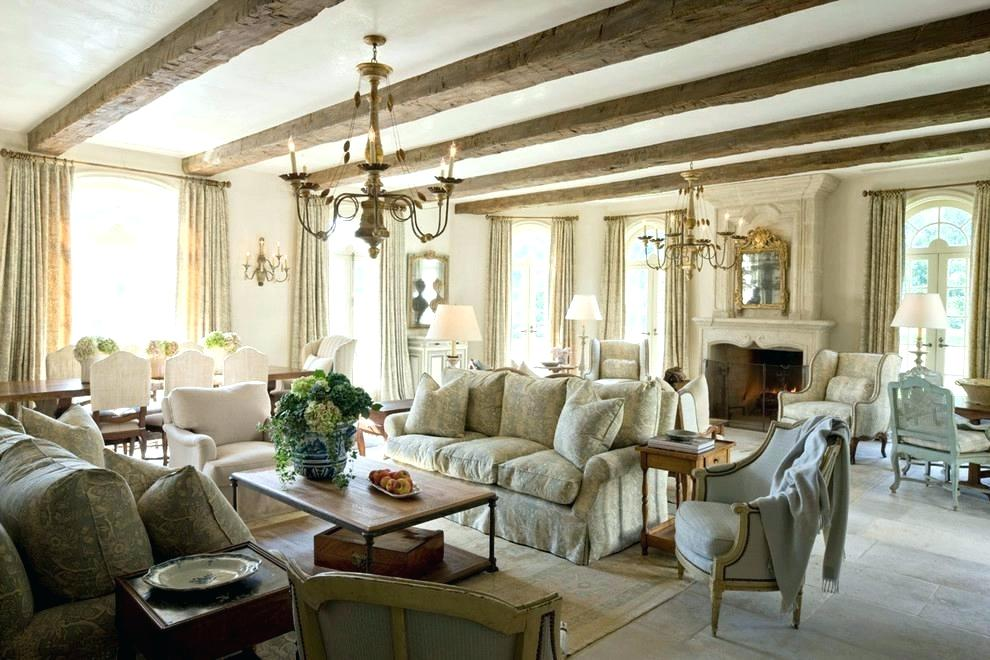 Exposed Beams and Ceiling to Floor Windows