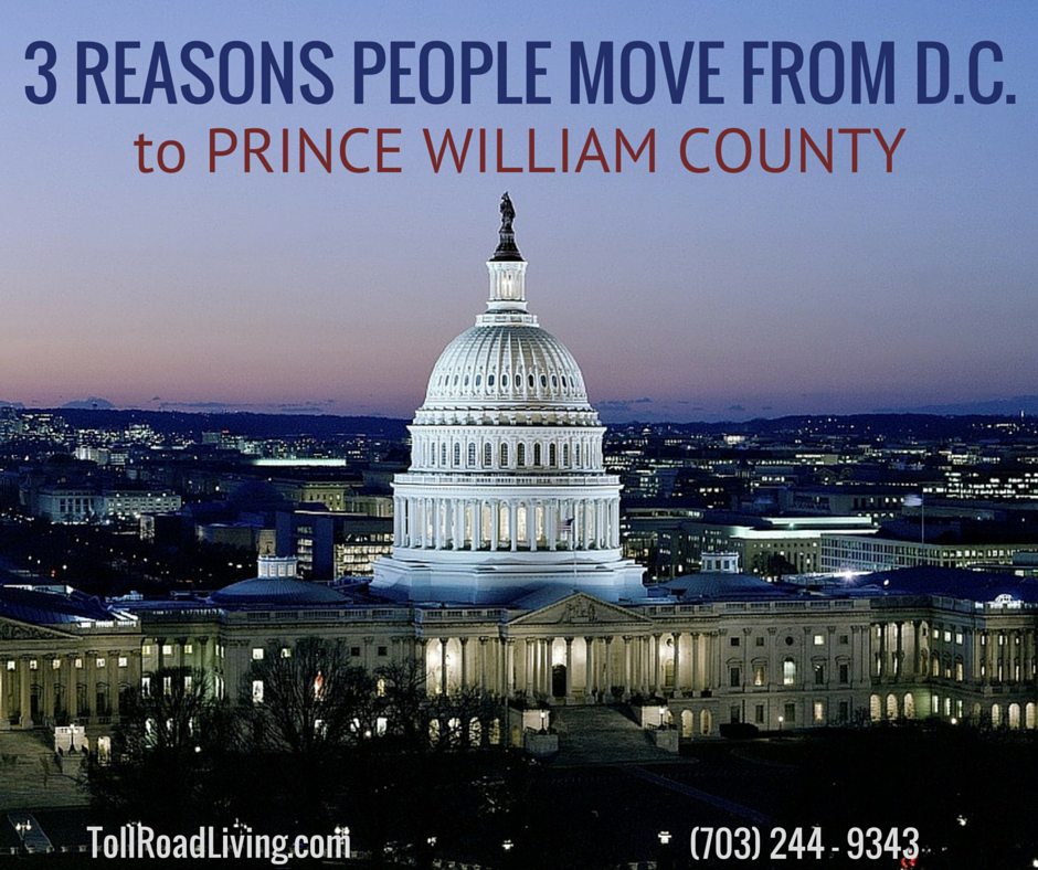 3 Reasons People Move From DC to Prince William County Blog