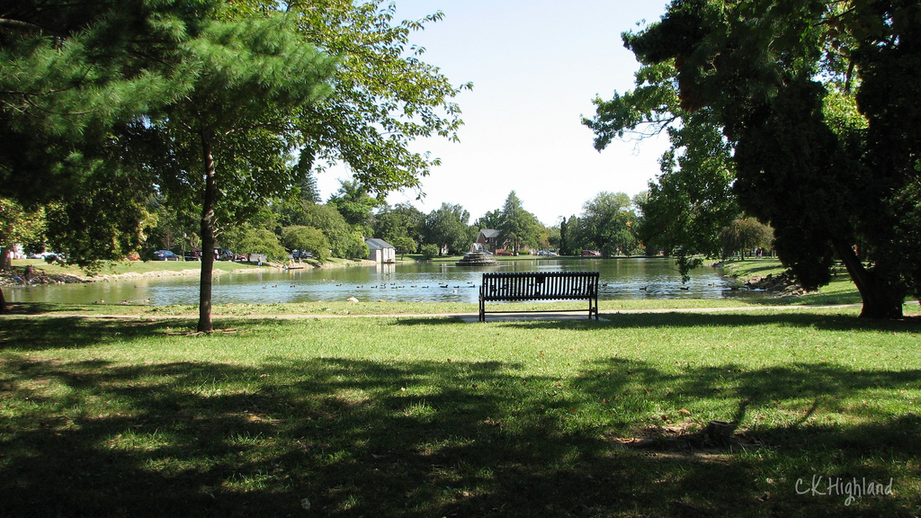 Culler Lake in Baker Park