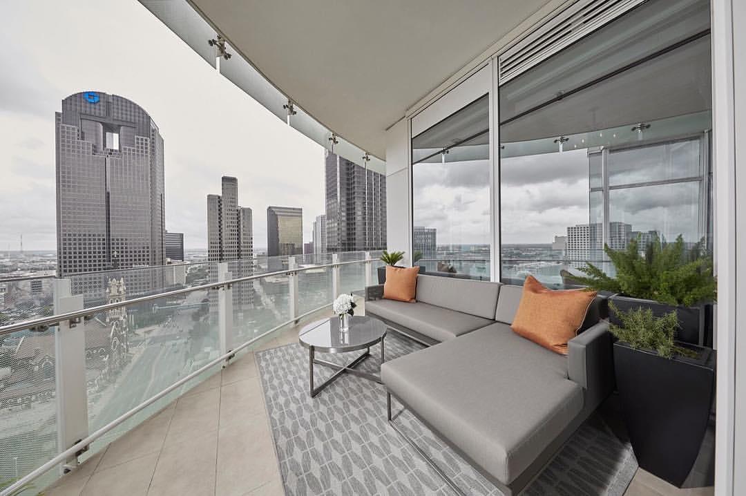 Patio on 20th Floor