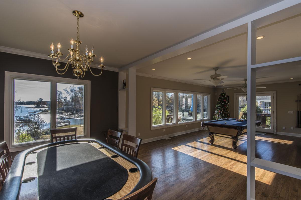 Sunroom with views