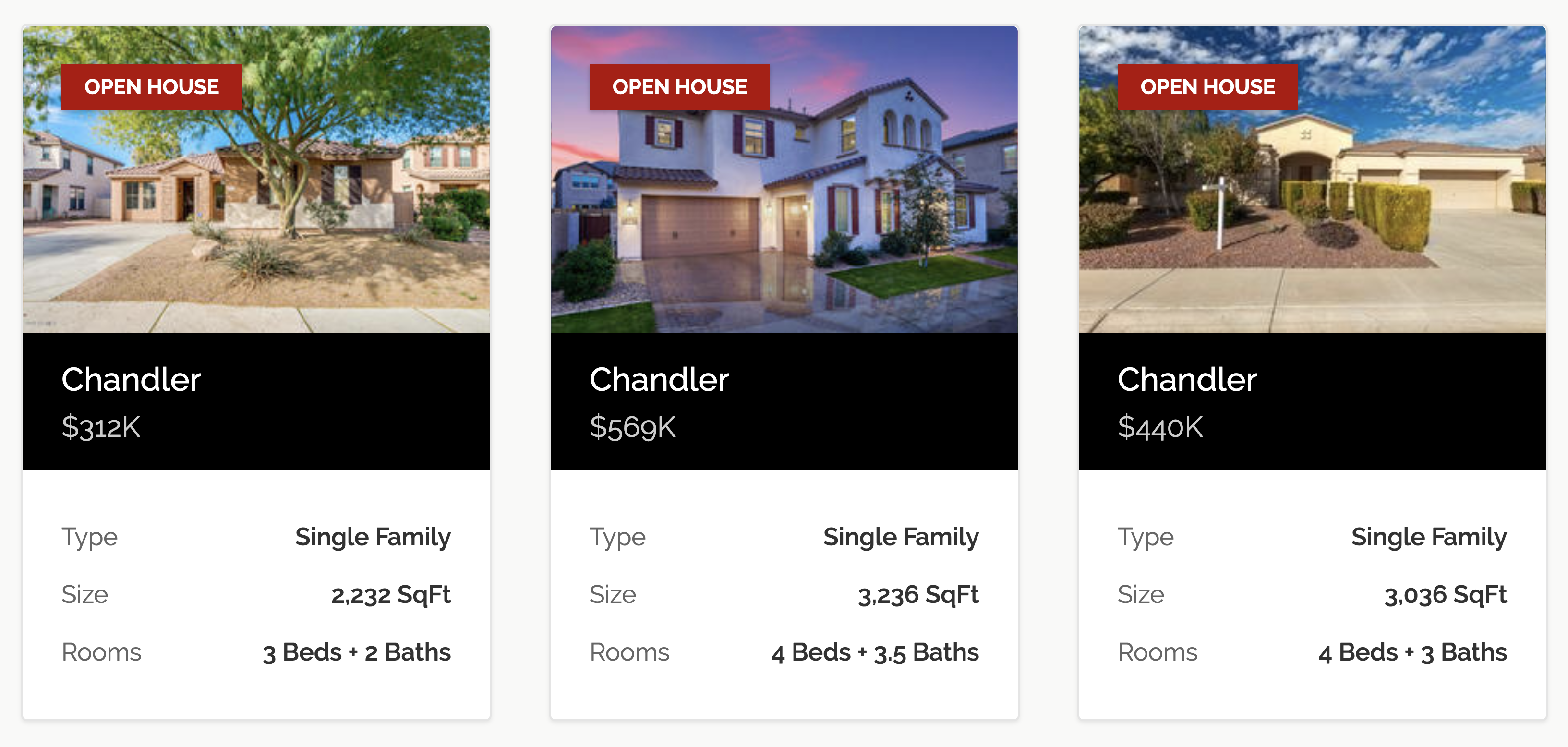 Open Houses In Chandler This Weekend