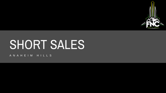 Short Sales in Anaheim Hills