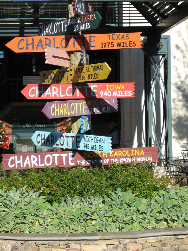 Moving to charlotte? Where are you from?