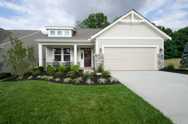 Fischer Homes - EDENTON Model At Orleans North
