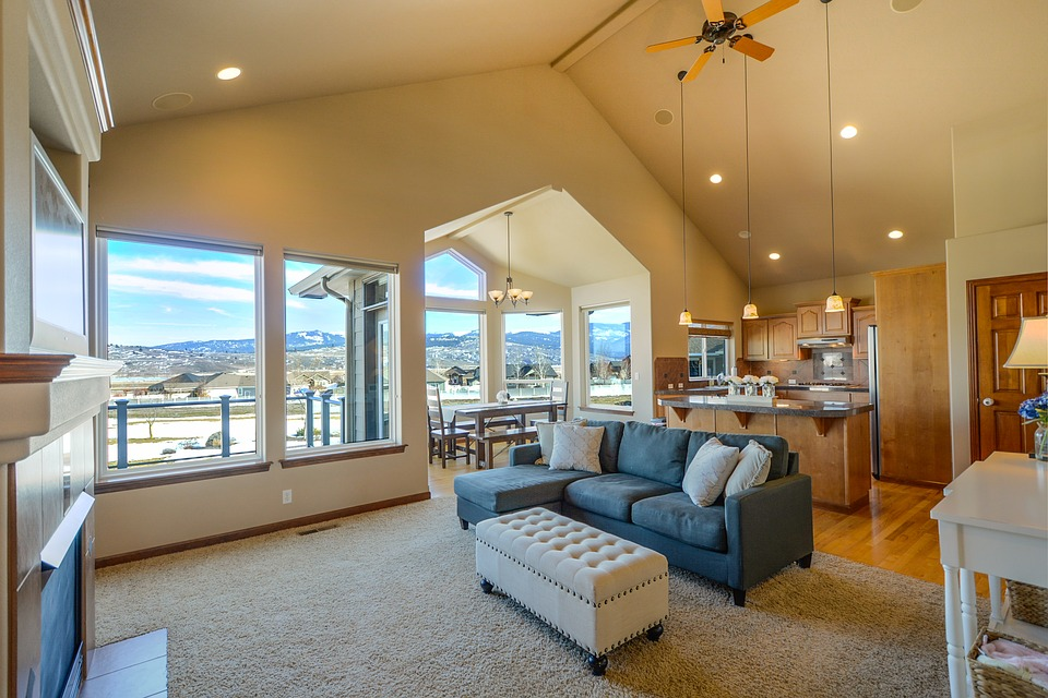 Neutral Interior Home Staging Bellingham Whatcom